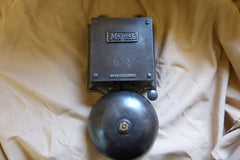 "Huge Vintage Cast Iron ""Magnet"" Industrial Fire / Door Bell - 240v"
