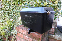 """Mignon"" - Reclaimed & Restored Vintage Cast Iron High Level Toilet Cistern"