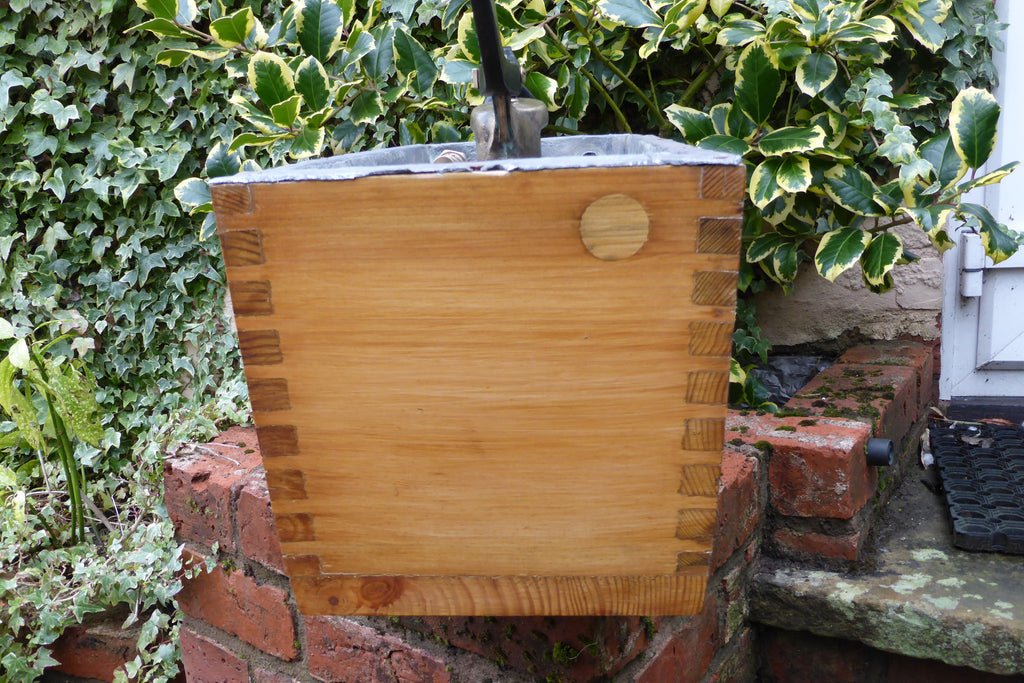 Quot Torrent Quot Restored Wooden High Level Toilet Cistern