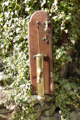 Restored Antique French Brass Hand Pump