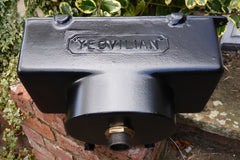 """Yeovilian"" - Reclaimed & Restored Vintage Cast Iron High Level Toilet Cistern"