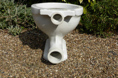 """Standard, Modernus"" Vintage 1930/50s Art Deco Style High Level Toilet"