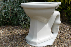 """Latona"" Vintage 1930/50s Art Deco Style High Level Toilet - Alfred Johnson"