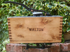 """Walton"" - Restored Wooden High Level Toilet Cistern"