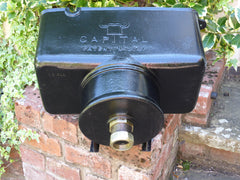 """Capital"" - Reclaimed & Restored Vintage Cast Iron High Level Toilet Cistern"