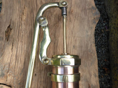 Dutch Brass and Copper Water Hand Pump - Wigo
