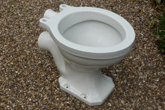 Whieldon Potteries Vintage Art Deco High Level Toilet - Standard seat