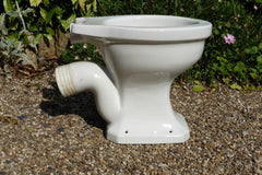 """Puritas"" Vintage 1930/50s Art Deco High Level Toilet - Johnson Brothers England"