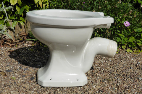 """Puritas"" Vintage 1950s Art Deco High Level Toilet - Johnson Brothers England"