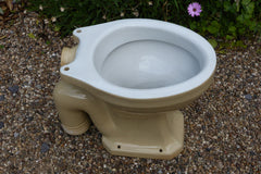 """Sharlin"" - Vintage 1930s Stoneware High Level Toilet"