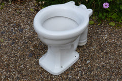 """Vitramid"" Vintage 1930/50s Art Deco High Level Toilet - 3 Pyramids"