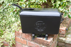 """Brent - Noisless"" - Reclaimed & Restored Vintage Cast Iron High Level Toilet Cistern"