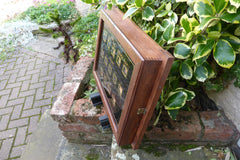 Antique Victorian 14 Room Butler's / Servant's Indicator Signal Box