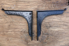 "8"" Plain Antique High Level Cast Iron Toilet Cistern Brackets"