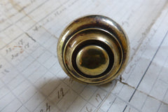 Antique Brass Door Knocker- Maltese Mystical Fish