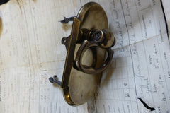 Antique Brass Mechanical Door Bell Pull