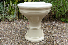 "Antique 1800s High Level Earthenware Toilet - ""The Kingston"""