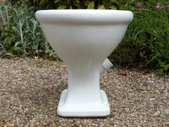 """Lindone"" - Antique High Level Earthenware Toilet - 1902"