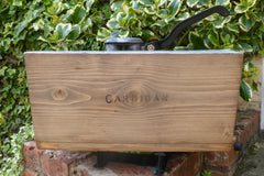 """Cardigan"" - Restored Wooden High Level Toilet Cistern"