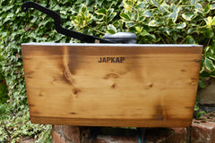 Japkap Restored Wooden High Level Toilet Cistern