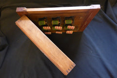 Antique Victorian 6 Room Butler's / Servant's Indicator Signal Box