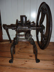 Restored Antique Cast Iron Coffee Mill Grinder by Zac Parks Birmingham