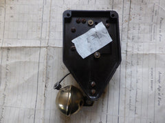 Unusual Cera BT Bakelite & Brass Electric Sleigh Doorbell - 3-6v