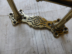 Antique Brass Mechanical High Level Toilet Cistern Pull - Twford Handley