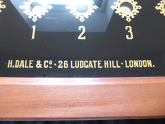 Antique Victorian 9 Room Butler's / Servant's Indicator Signal Box - Ludgate Hill London
