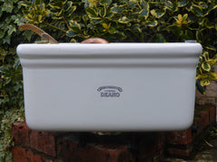 "Antique Fireclay Ceramic ""Deano"" High Level Toilet Cistern - Dodd & Oulton Liverpool"