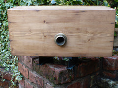"Plain Restored Wooden High Level Toilet Cistern - ""Harriap"""