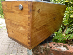 Restored Wooden High Level Toilet Cistern - Hawk - Manufactured by F.W.B