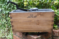 Restored Wooden High Level Toilet Cistern - Japkap