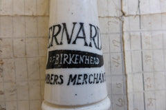 Antique Advertising High Level Toilet Cistern Chain Pull - BERNARDS BIRKENHEAD