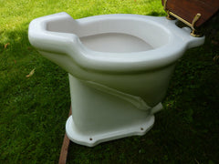 Antique French High Level Toilet