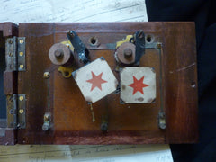 Restored Antique Office Indicator Bell Box