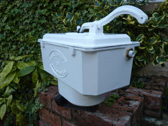 Restored Victorian Cast Iron High Level Toilet Cistern Wolverhampton