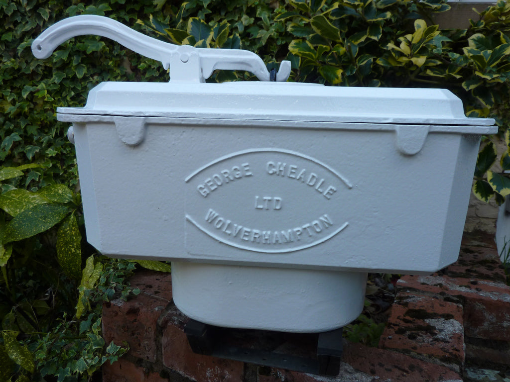 Reclaimed & Restored Victorian Cast Iron High Level Toilet Cistern Wolverhampton