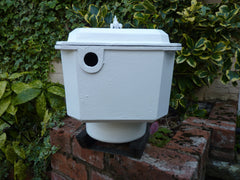 Restored Victorian Cast Iron High Level Toilet Cistern WolverhamptonRestored Victorian Cast Iron High Level Toilet Cistern Wolverhampton