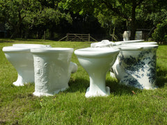 Antique high level victorian toilets currently in stock at DragonQuarry