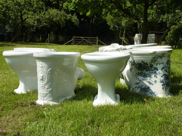Shanks Vintage Art Deco High Level Toilet Dragonquarry