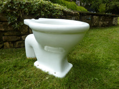"Antique ""Fortuna, London"" - Victorian High Level Throne Toilet"