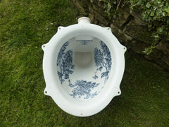 "Antique ""The Puritas Washdown Closet"" - Victorian High Level Throne Toilet"