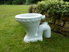 """The Excelsior Washdown Pedestal"" - Victorian High Level Toilet 1898"