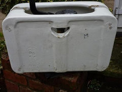 Antique Japkap Porcelain High Level Toilet Cistern
