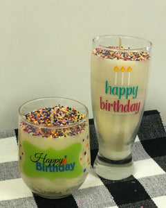 Birthday Spirit Soy Candles