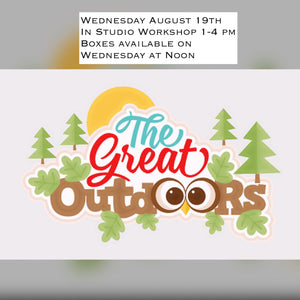 THE GREAT OUTDOORS - AUGUST 19TH