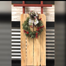 Load image into Gallery viewer, Wooden Porch Sleigh