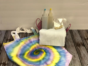 DIY Canvas Tote Tie Dye Kit
