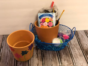 DIY Paint Your Own Clay Pot Kit